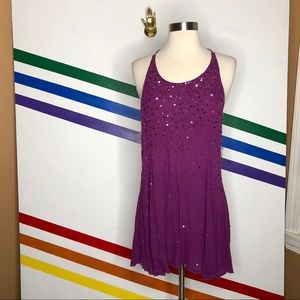 NEW Free People sequin Strappy back dress